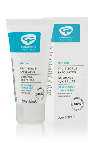Green People Fruit Scrub Exfoliator 50 ml