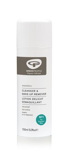 Green People Sensitive Cleanser & MakeUp Remover 150 ml