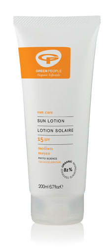 Green People Sun Lotion SPF15 Lotion Solaire 200 ml